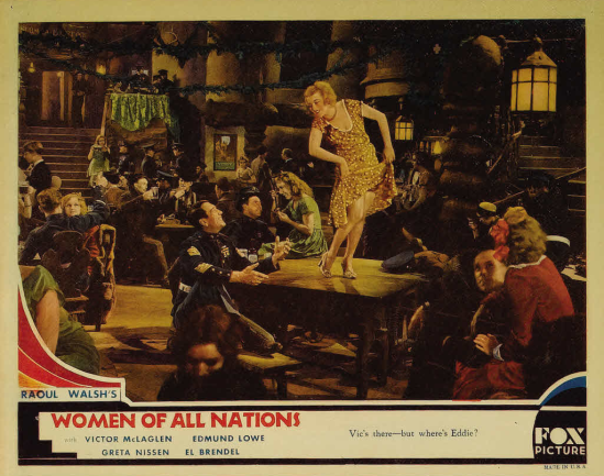Women of all Nations Lobby Card 4