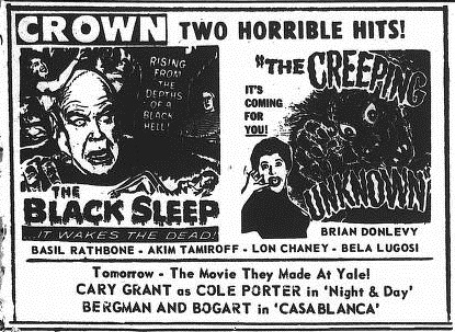 The Black Sleep Yale Daily News no. 143 May 13 1957