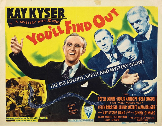 You'll Find Out Lobby Card