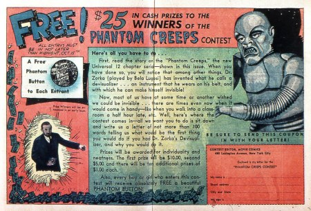 The Phantom Creeps Competition