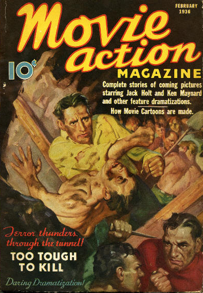 Movie Action Magazine February 1936