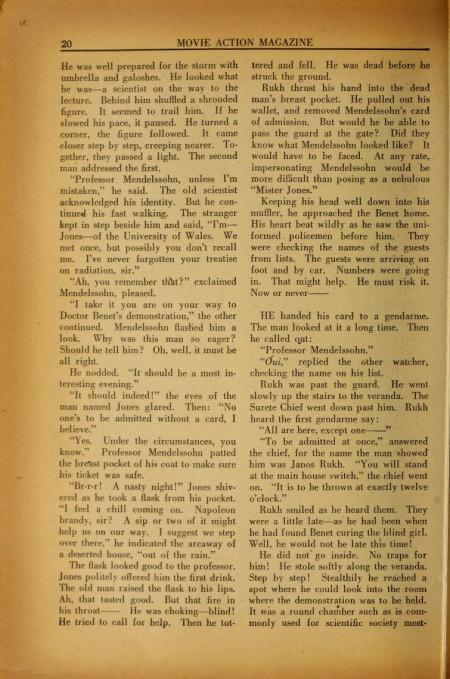 Movie Action Magazine January 1936 18