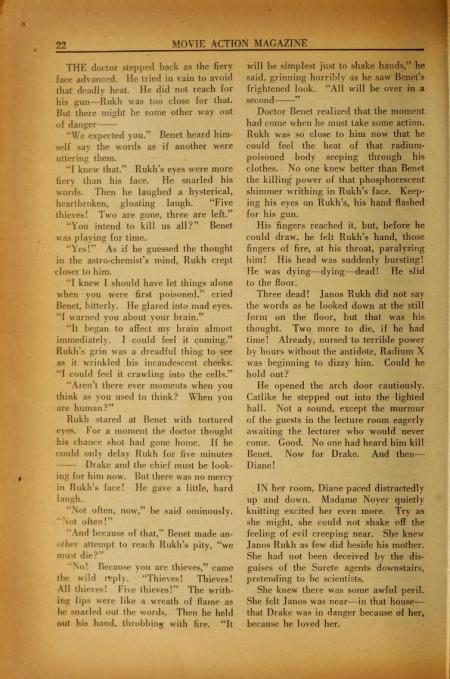 Movie Action Magazine January 1936 20