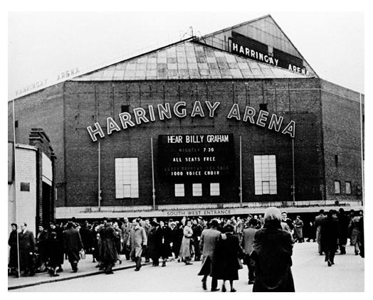 Harringay Arena 1954