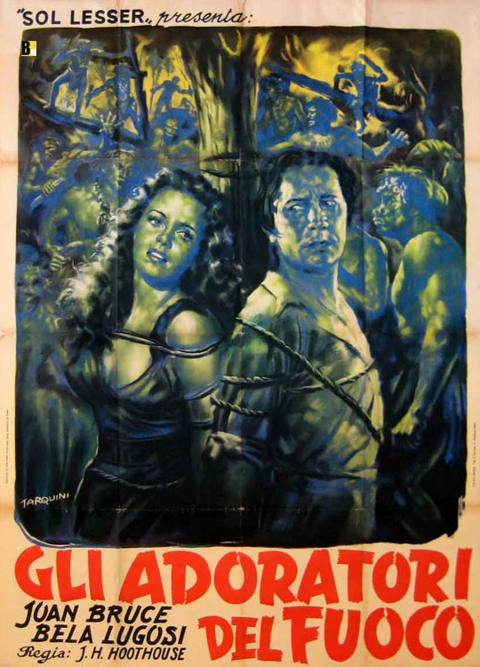 The Return of Chandu Italian One Sheet