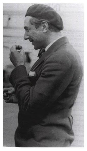 Bela Lugosi en route to Hawaii aboard The City of Los Angeles 2