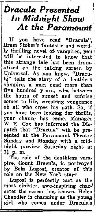 Casa Grande Dispatch, May 1, 1931