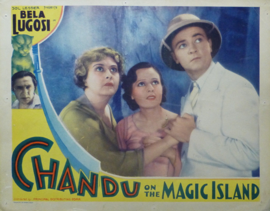 Chandu On The Magic Island Lobby Card 1