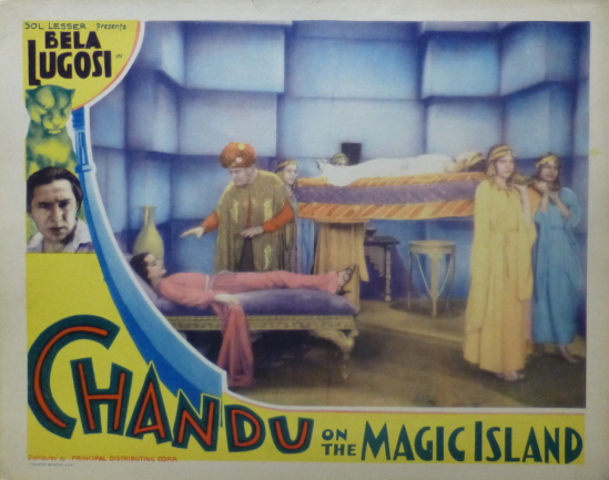 Chandu On The Magic Island Lobby Card 3