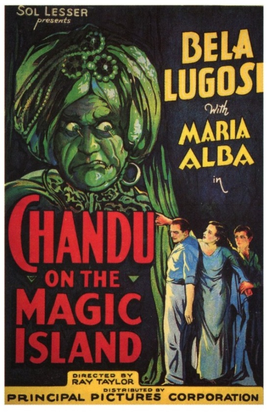 Chandu on the Magic Island One Sheet