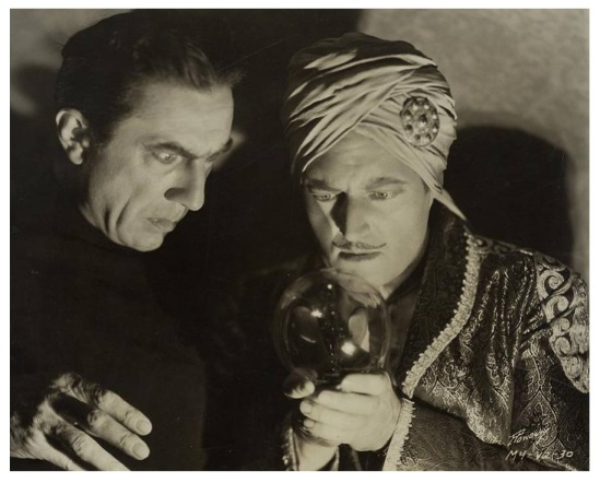 Chandu The Magician Bela lugosi and Edmund Lowe