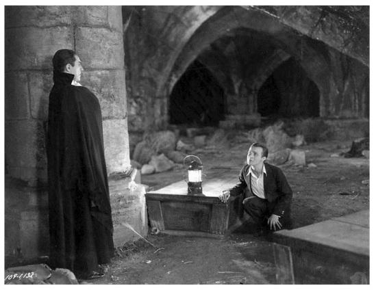 Dracula - Bela Lugosi and Dwight Fyre