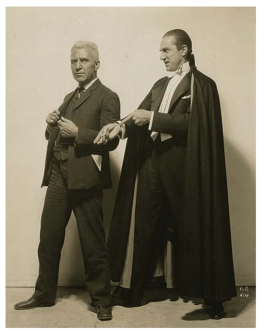 Dracula - Edward Van Sloan and Bela Lugosi