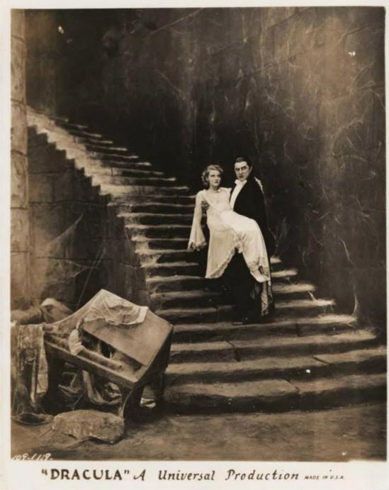 Dracula - Helen Chandler and Bela Lugosi