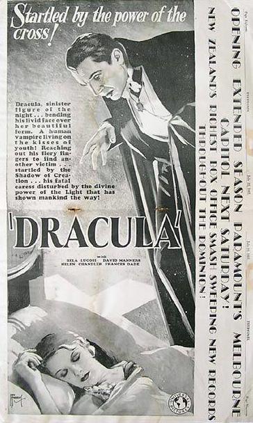 Dracula New Zealand Trade Ad