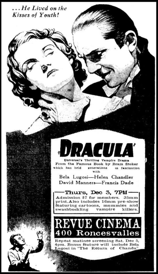 Dracula unknown newspaper