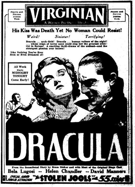 Dracula unknown newspaper 2