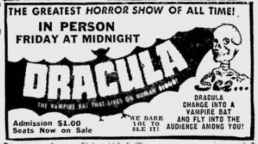 Dracula, December 22, 1952