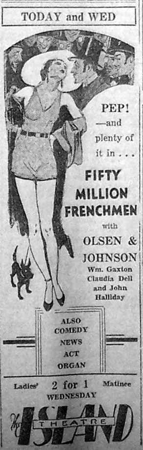 Fifty Million Frenchmen 1