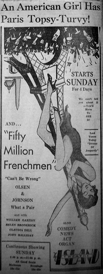 Fifty Million Frenchmen 3
