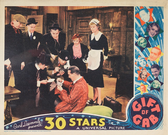 Gift of Gab Lobby Card