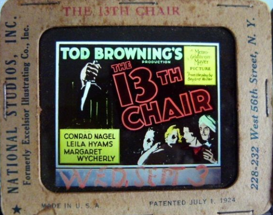 The 13th Chair Glass Slide