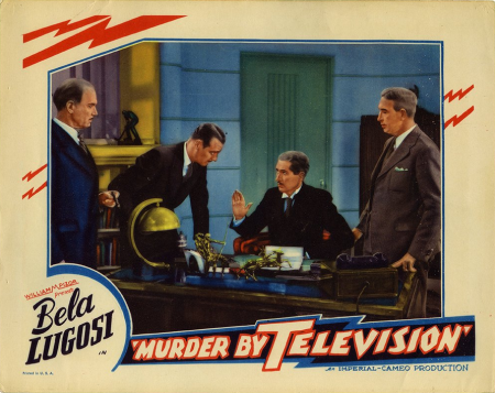 Murder By Television Lobby Card