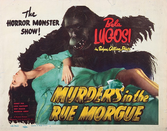 Murders in the Rue Morgue Lobby Card 3