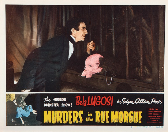 Murders in the Rue Morgue Lobby Card 4