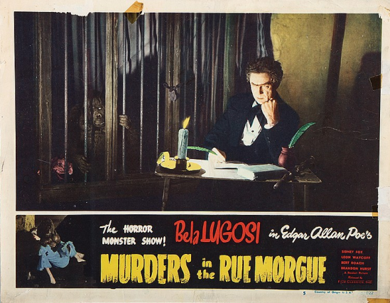 Murders in the Rue Morgue Lobby Card 5