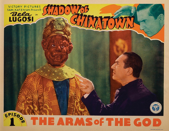 Shadow of Chinatown Episode One Lobby Card