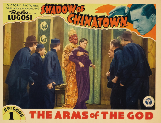 Shadow of Chinatown Lobby Card 1