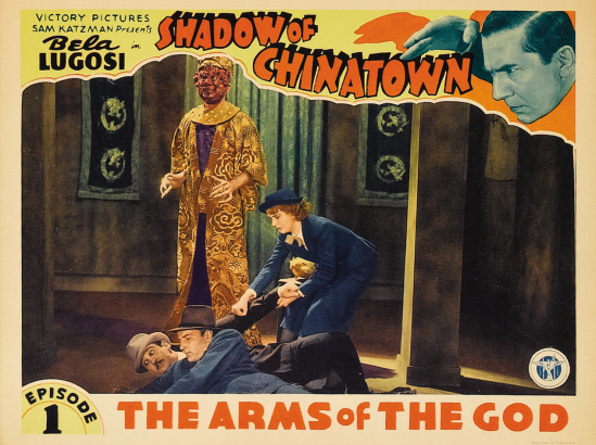 Shadow of Chinatown Lobby Card 2