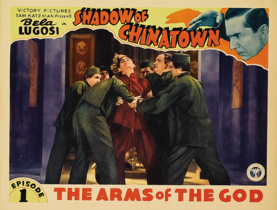 Shadow of Chinatown Lobby Card 3