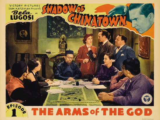 Shadow of Chinatown Lobby Card 4