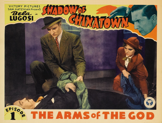 Shadow of Chinatown Lobby Card 5