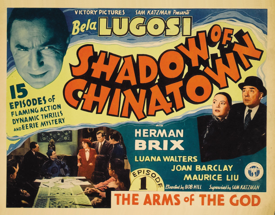Shadow of Chinatown Lobby Card A