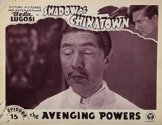 Shadows of Chinatown Lobby Card 1
