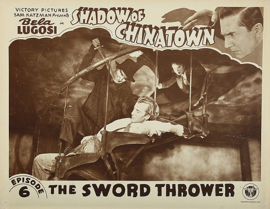 Shadows of Chinatown Lobby Card 2