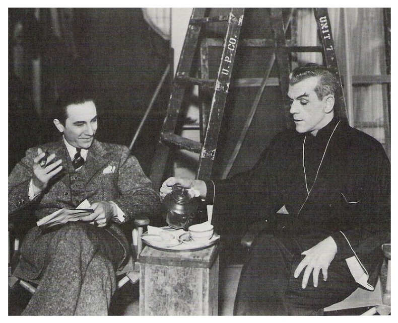 The Black Cat - Bela Lugosi and Boris Karloff