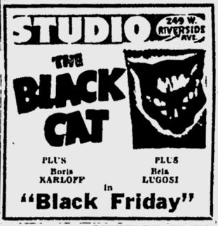 The Black Cat, The Spokesman-Review, September 2, 1948
