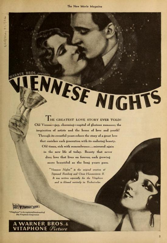 Viennese Nights, The New Movie Magazine