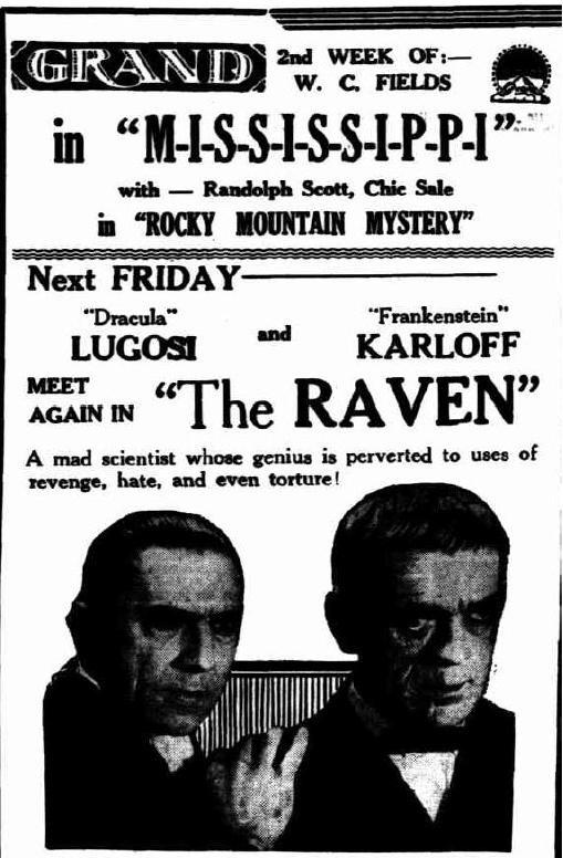 The Raven unknown newspaper