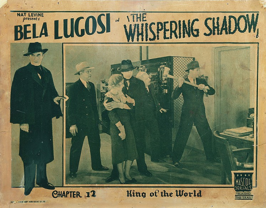 The Whispering Shadow Lobby Card Chapter 12 - 2