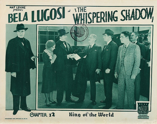 The Whispering Shadow Lobby Card Chapter 12