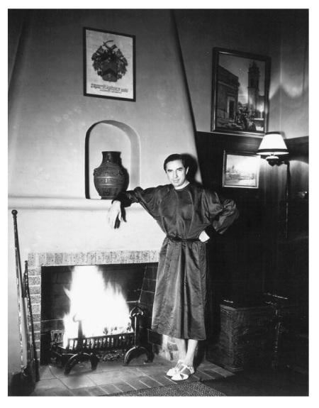 Bela Lugosi at Home