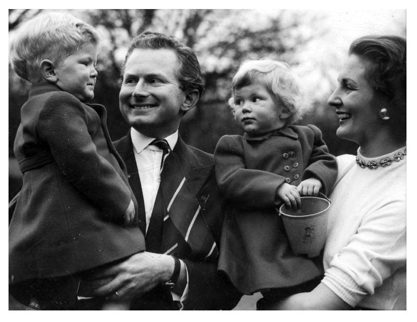 David and Ann Croft and children