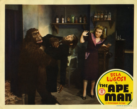 The Ape Man Lobby Card