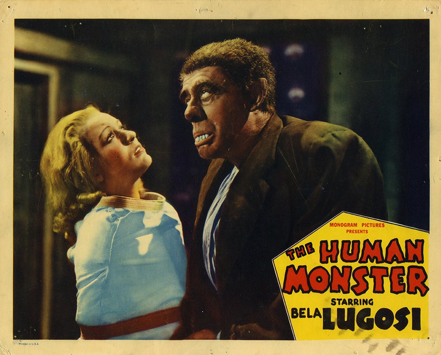 Human Monster Lobby Card