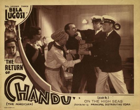 The Return of Chandu The Magician Episode 3 Lobby Card